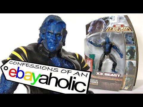 Marvel Legends X3 BEAST Confessions of an Ebayaholic Episode 54