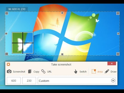 how to take screenshort on PC in windows 7/8/8.1/10 without installing any software