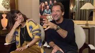 Le jeu : Bérénice Bejo et Stéphane De Groodt pètent un câble pendant la promo