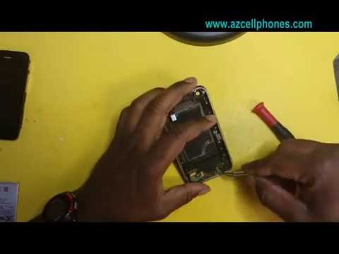 iPhone 3G   charging port and audio jack removal