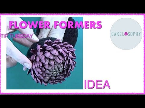 Making Sugar and Clay Flowers: Flower Formers