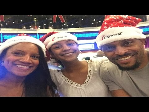 Roll With Me:  Carnival Sensation Christmas Cruise 2016
