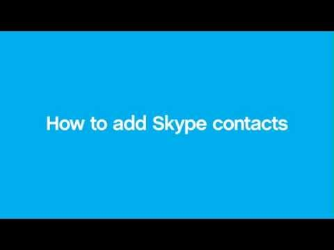 How to add Skype contacts - Mac
