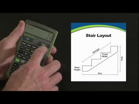 ConcreteCalc Pro Stair Layout Calculations How To