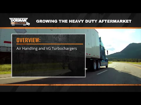How Turbochargers Operate with Heavy Duty Diesel Engines by Dorman Products (Episode 3)