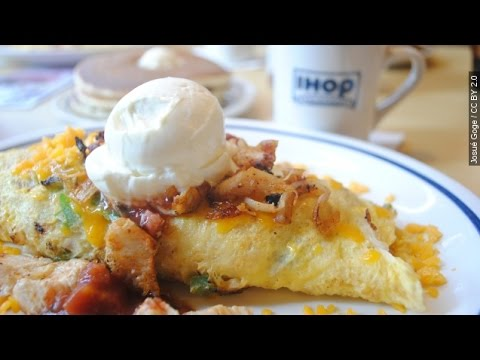 Would You Eat A 1,300-Calorie Omelette?