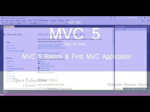 ASP.NET MVC 5 Step By Step - Part 1 - Basics and First Application