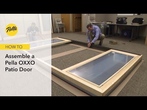 How to Assemble Pella OXXO Patio Door