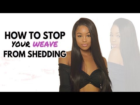 STOP your weave from SHEDDING! Tangling & Shedding Test By UNice hair