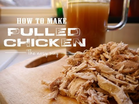 How to Make Pulled Chicken in the Oven | Mi Terruno Food