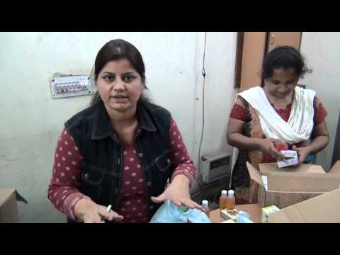 Transparent glycerin soap and face wash user test