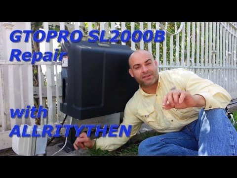 GTO-PROSL2000B gate motor REPAIR