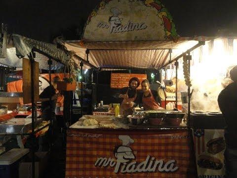 Mr Piadina - Italian Street Food stall located in Camden Lock Market, London - November 2013