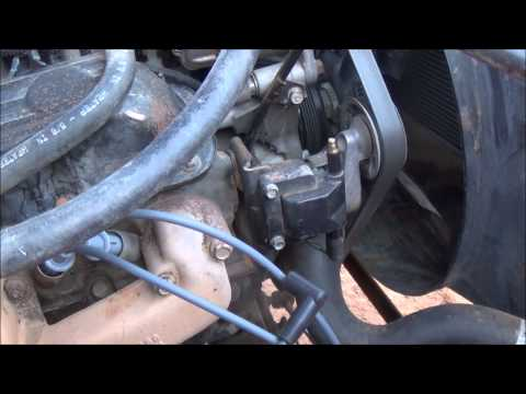 Changing Dodge 'Magnum' engine spark plug wires