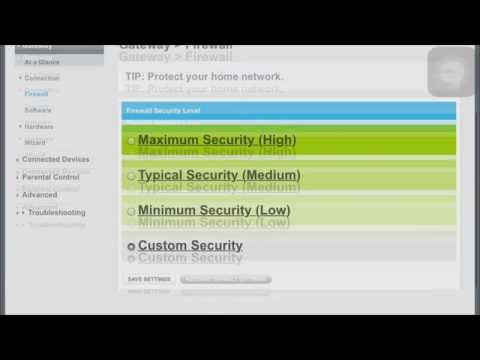 How To Edit & Disable your firewall on Xfinity internet/ Parental Controls