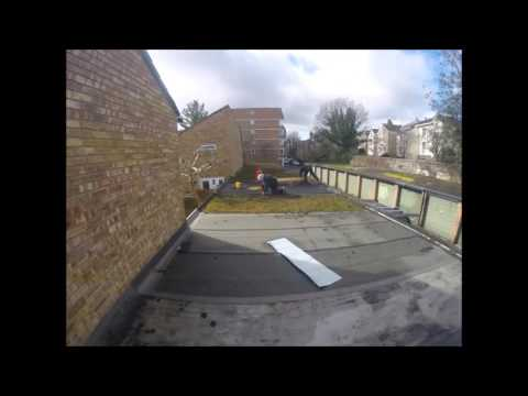 Replacing a Torch-On felt roof with Retrix EPDM