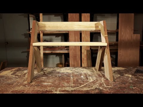 How to Build a Leopold Bench with Spike Carlsen - The Backyard Homestead Book of Building Projects