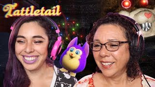 Playing TATTLETAIL  with my MOM!