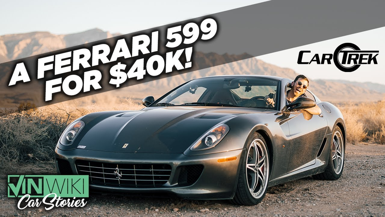 I bought this Ferrari 599 for $40k!