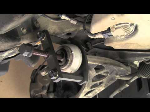 Replacing front control arm bushings on BMW 3 series 84 thru 05 (E30, E36, E46)
