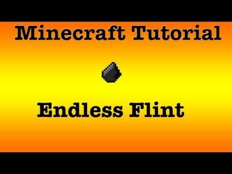 Minecraft Tutorial: how to get endless flint
