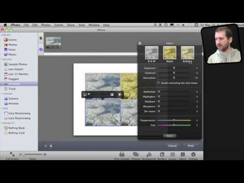 iPhoto Printing Tricks (MacMost Now 556)