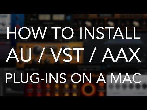 How to Install AU/VST/AAX Plug-ins on a Mac