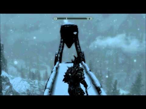 Elder Scrolls V Skyrim Console Commands Demonstration 1