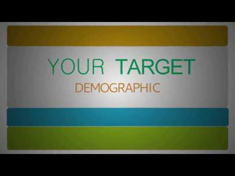 Make A TV Commercial for Your Business: Demographics