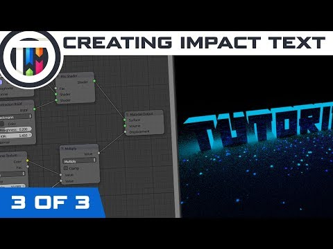 Blender Tutorial - How to create an Impact Intro (3 of 3)