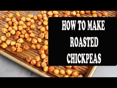 HOW TO MAKE ROASTED CRISPY CHICKPEAS IN MICROWAVE OWEN