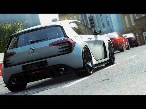 DRIVECLUB - GOLF GTI DESIGN VISION - GAMEPLAY PS4