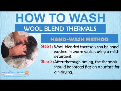 How to Wash Blend Thermals? - Hand & Machine Wash Tips