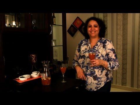 Non- Alcoholic Sangria by Rekha