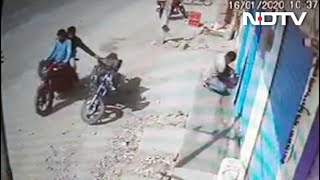 Caught On Camera: Bikers Filch Bag With Rs 20 Lakh In Gold, Silver, Cash