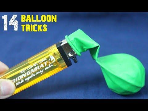 14 BEST LIFE HACKS FOR BALLOONS