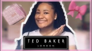 "98523f722 UNBOXING  4   TED BAKER LONDON 22"" BOW EMBOSSED TROLLEY SUITCASE + ..."