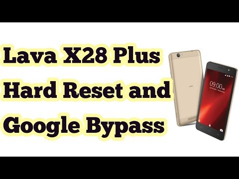 Lava X28 Plus Hard Reset and Google Bypass with Tamil Technical Teacher