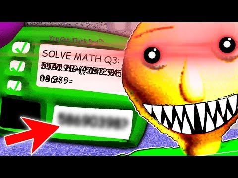 SOLVING BALDI'S IMPOSSIBLE QUESTION | Baldi's Basics - Best Mods (Lets Play Funny Gameplay)
