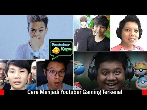 Belajar Cara Menjadi Youtuber Gaming Sukses dari Reza Oktovian, Miawaug, Tara Arts, dll