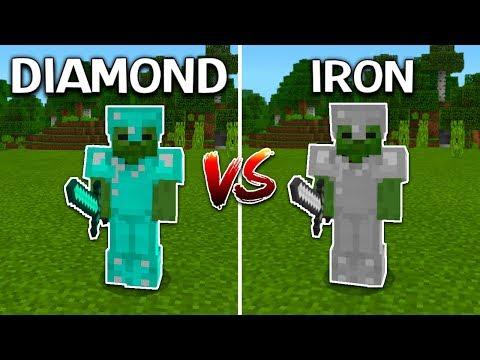 DIAMOND ARMOR vs. IRON ARMOR (Minecraft United UHC)