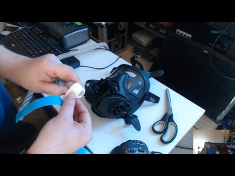 🛠 HowTo Make a CPAP Mask from Gas Mask - Twitch Upload