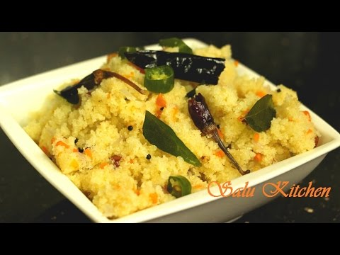 Soft & fluffy Upma / Break Fast Recipe
