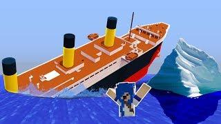 ICEBERG VS. TITANIC (MINECRAFT)