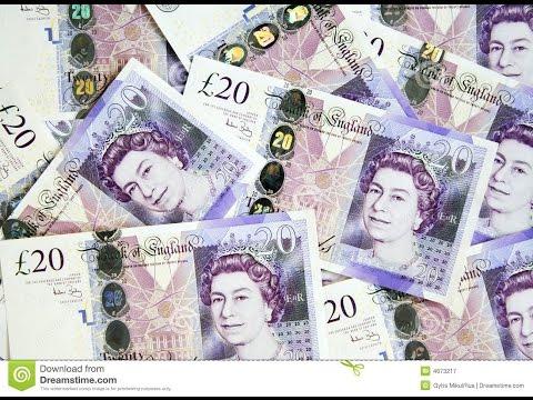 Quick Cash - Powerful 7 Mins Golden Ratio Isochronic  Frequency Binaural Beats - UK POUNDS - 1080p