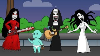 Kartun Lucu Maroon 5 Girls Like You Cover Parody Joget