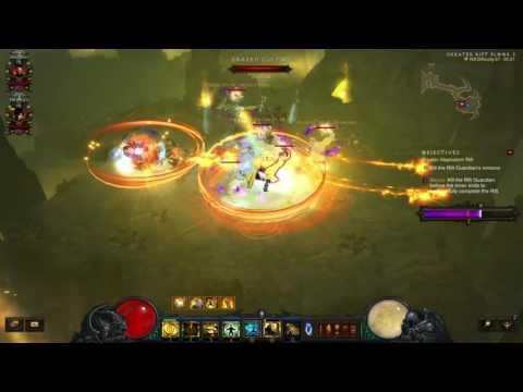 Diablo 3: The Diversity Of Uncommon Builds (Team 1/12 Grift 67 v2.4.1)