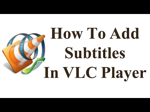 How to add subtitles in VLC Player-[in Telugu]