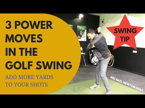 Hit The Ball Further With These 3 Golf Swing Power Moves