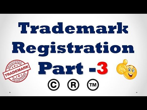 How to Apply Online Trademark Registration in India Part -3  [Hindi]
